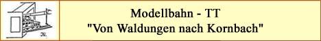 Modellbahn TT Vitrinenanlage